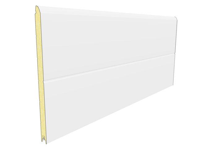 panel z jednym przetłoczeniem (szerokie)